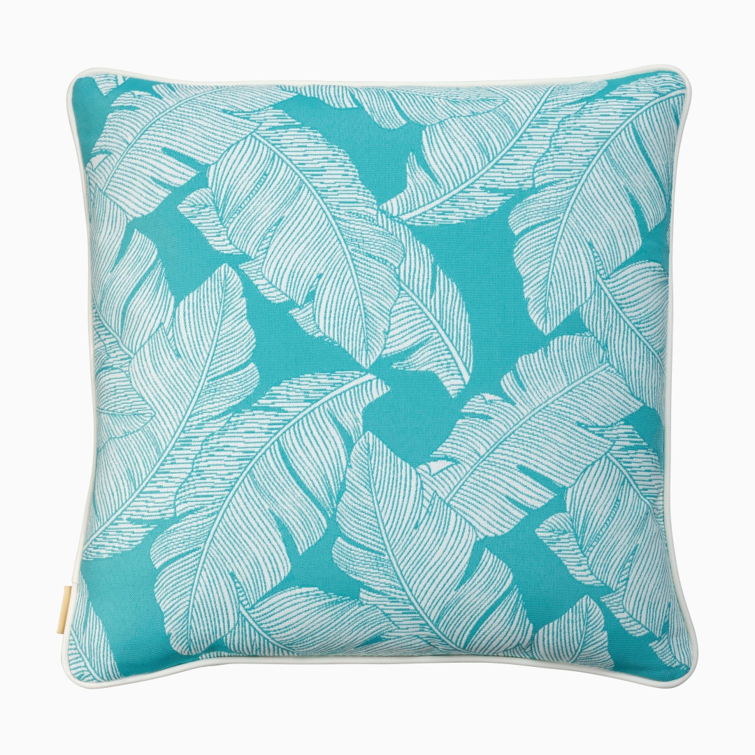 Big Leaves - Turquoise