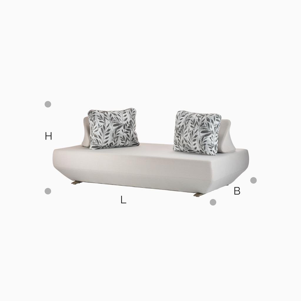 Sofa Martinique - Grau