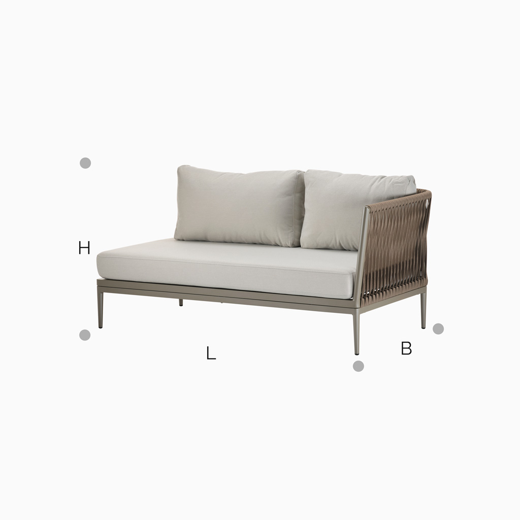 Lounge Sofa Long Beach