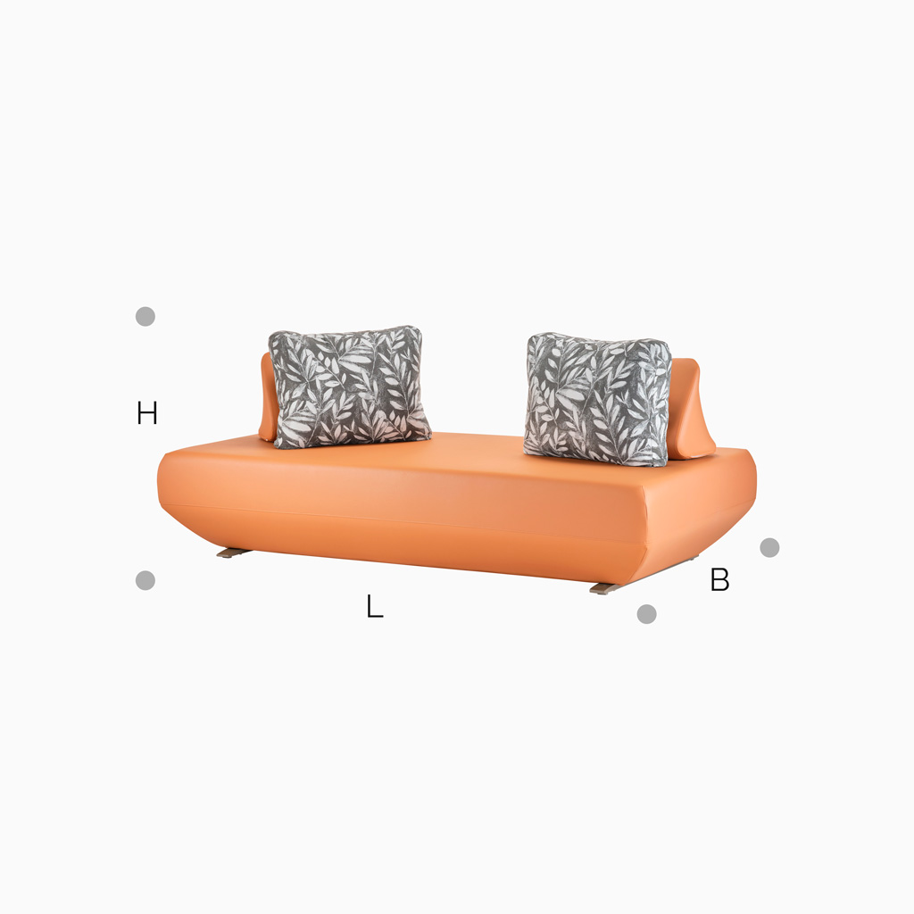 Sofa Martinique - Orange